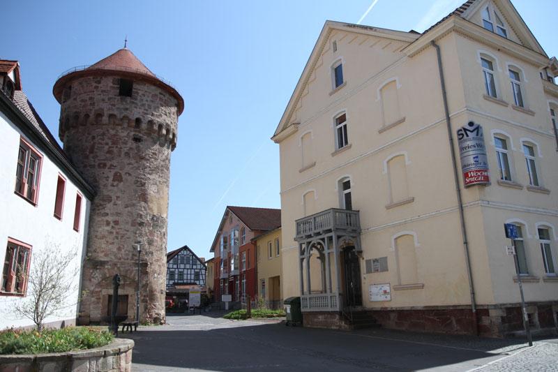 Die WG liegt unmittelbar in der historischen Altstadt